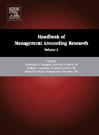 Cover image for Handbook of Management Accounting Research