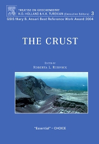 The Crust, 1st Edition,R.L. Rudnick,ISBN9780080448473