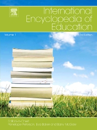 Cover image for International Encyclopedia of Education