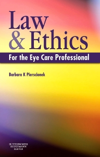 Cover image for Law and Ethics for the Eye Care Professional