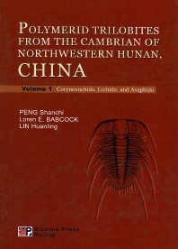 Cover image for Polymerid Tribolites from the Cambrian of Northwestern Hunan, China, Two-Volume Set