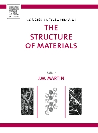 Cover image for Concise Encyclopedia of the Structure of Materials