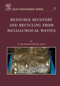 Cover image for Resource Recovery and Recycling from Metallurgical Wastes
