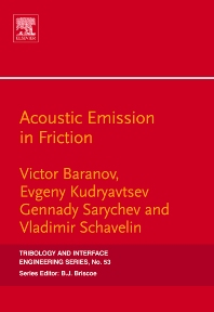 Cover image for Acoustic Emission in Friction