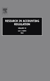 Research in Accounting Regulation - 1st Edition - ISBN: 9780080453804, 9780080468891
