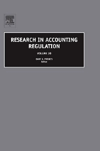 Book Series: Research in Accounting Regulation