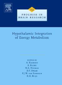 9780080463483 - Hypothalamic Integration of Energy Metabolism - Livre
