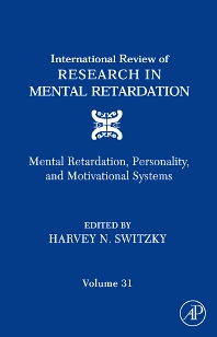 9780080463537 - International Review of Research in Mental Retardation - 書