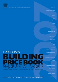 LAXTON'S BUILDING PRICE BOOK 2007 - 179th Edition - ISBN: 9780080464848