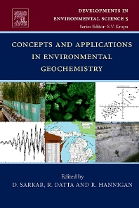 Cover image for Concepts and Applications in Environmental Geochemistry