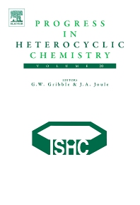 Progress in Heterocyclic Chemistry, 1st Edition,Gordon Gribble,J. Joule,ISBN9780080469751