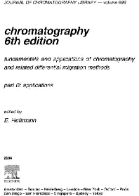 Chromatography, 6th Edition,E. Heftmann,ISBN9780080472256