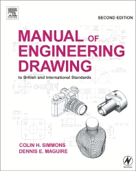 Cover image for Manual of Engineering Drawing