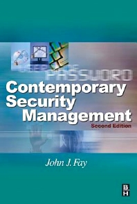 Contemporary Security Management - 2nd Edition - ISBN: 9780080476827