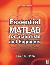 Cover image for Essential MATLAB for Scientists and Engineers