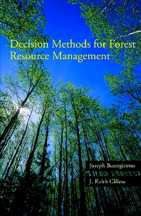 Cover image for Decision Methods for Forest Resource Management