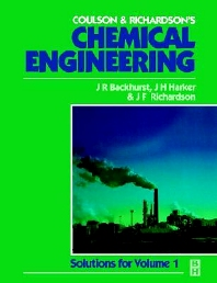 Cover image for Chemical Engineering: Solutions to the Problems in Volume 1