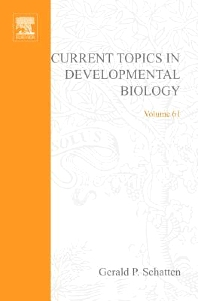 Current Topics in Developmental Biology, 1st Edition,Gerald Schatten,ISBN9780080494340