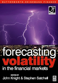 Cover image for Forecasting Volatility in the Financial Markets