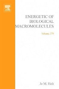 Energetics of Biological Macromolecules, Part D, 1st Edition,Jo Holt,Michael Johnson,Gary Ackers,ISBN9780080497174