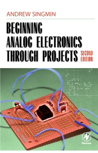 Cover image for Beginning Analog Electronics through Projects