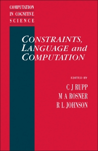 Cover image for Constraints, Language and Computation