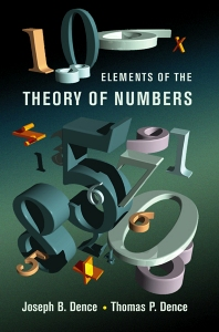Cover image for Elements of the Theory of Numbers