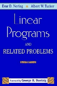 Linear Programs and Related Problems - 1st Edition - ISBN: 9781493301690, 9780080510309