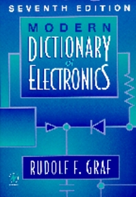 Cover image for Modern Dictionary of Electronics