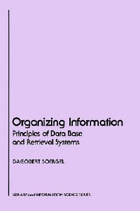 Cover image for Organizing Information