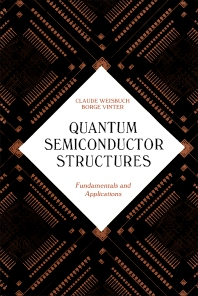 Quantum Semiconductor Structures - 1st Edition - ISBN: 9780127426808, 9780080515571