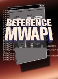 Reference MWAPI - 1st Edition - ISBN: 9781555582081, 9780080515977