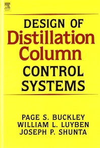 Cover image for Design of Distillation Column Control Systems
