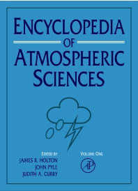 Cover image for Encyclopedia of Atmospheric Sciences
