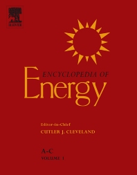 Cover image for Encyclopedia of Energy
