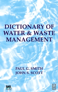 Cover image for Dictionary of Water and Waste Management