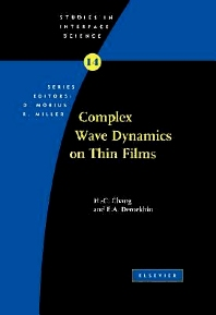 Complex Wave Dynamics on Thin Films, 1st Edition,Hen-hong Chang,E.A. Demekhin,ISBN9780080529530