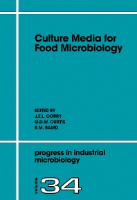 Culture Media for Food Microbiology, 1st Edition,J.E.L. Corry,G.D.W. Curtis,R.M. Baird,ISBN9780080530123