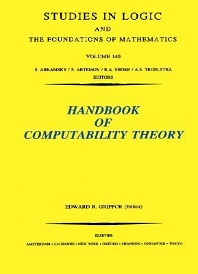 Handbook of Computability Theory, 1st Edition,E.R. Griffor,ISBN9780080533049