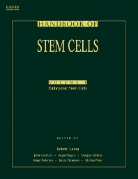 Handbook of Stem Cells, Two-Volume Set, 1st Edition,Robert Lanza,Helen Blau,John Gearhart,Brigid Hogan,Douglas Melton,Malcolm Moore,Roger Pedersen,E. Donnall Thomas,James Thomson,Catherine Verfaillie,Irving Weissman,Michael West,ISBN9780080533735