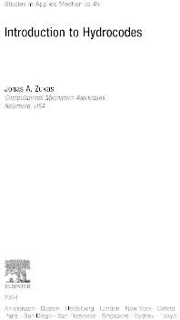 Introduction to Hydrocodes, 1st Edition,Jonas Zukas,ISBN9780080535012
