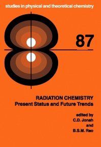 Radiation Chemistry, 1st Edition,C.D. Jonah,B.S.M. Rao,ISBN9780080540214