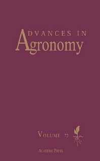 Advances in Agronomy, 1st Edition,Donald L Sparks,ISBN9780080543994