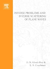 Cover image for Inverse Problems and Inverse Scattering of Plane Waves