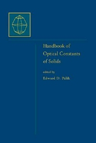 Cover image for Handbook of Optical Constants of Solids