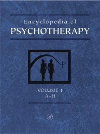 Encyclopedia of Psychotherapy - 1st Edition - ISBN: 9780123430106, 9780080547992