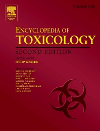Cover image for Encyclopedia of Toxicology