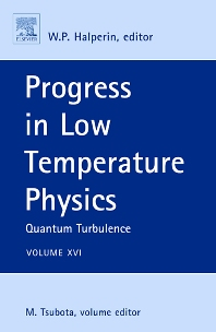 Progress in Low Temperature Physics, 1st Edition,Makoto Tsubota,ISBN9780080548104