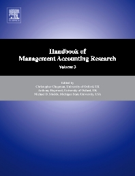 Handbook of Management Accounting Research - 1st Edition - ISBN: 9780080554501, 9780080915159