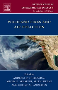 Cover image for Wildland Fires and Air Pollution